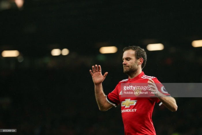 Juan Mata could leave Man United for nothing in the summer