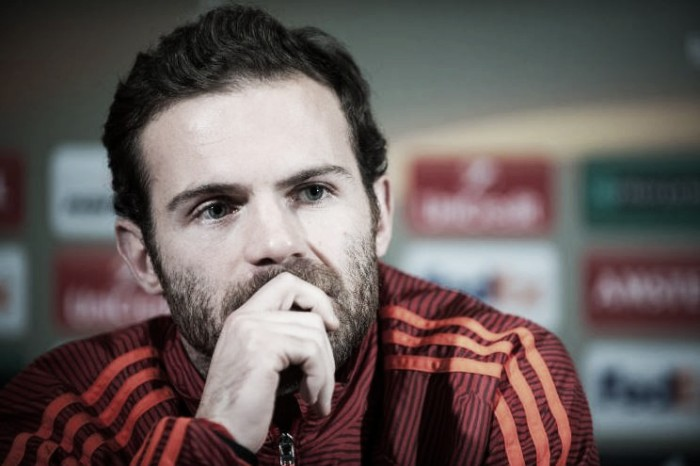 Media criticism not an issue for Juan Mata