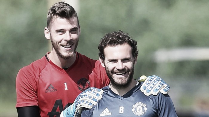 Juan Mata reveals Manchester contingent in Spain squad are joking ahead of Saturday's derby
