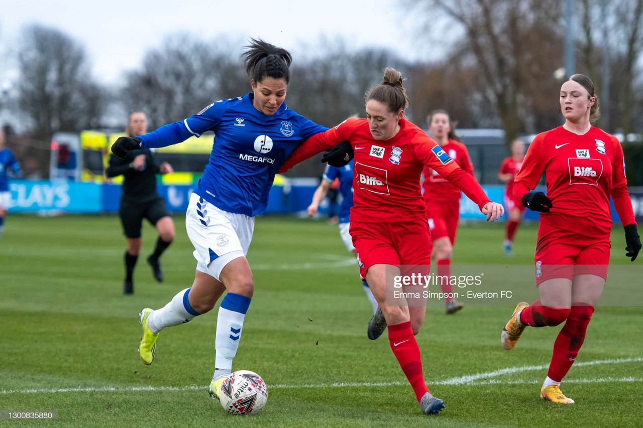 Everton Women 1-1 Birmingham City: points shared as Toffees unable to break down Blues defence