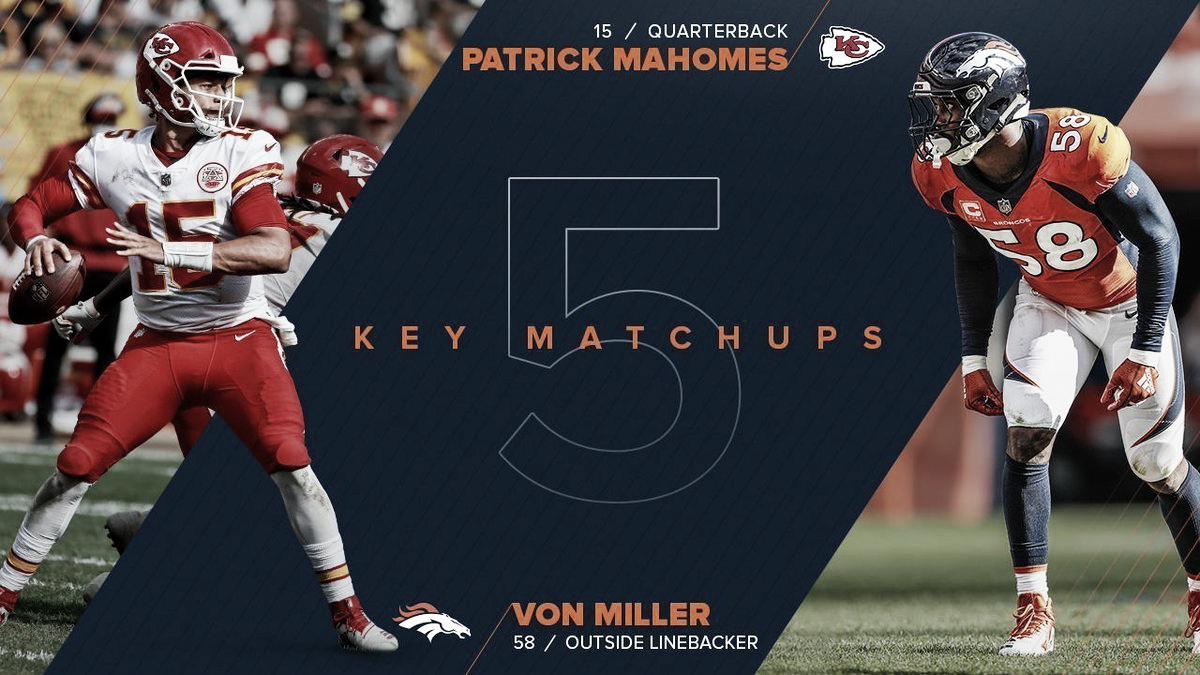 Histórica rivalidad entre los Denver Broncos y Kansas City Chiefs