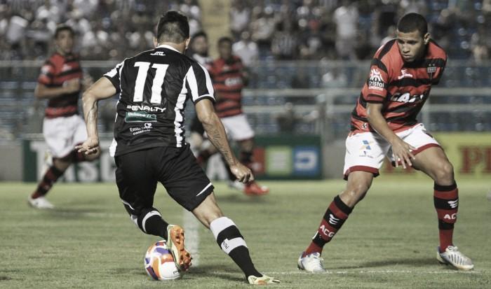 Ceará busca primeira vitória dentro de casa na Série B diante do Atlético-GO