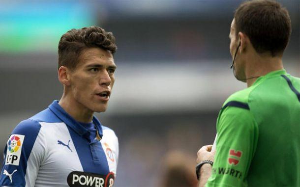 Mateu Lahoz se disculpó con los jugadores del Espanyol