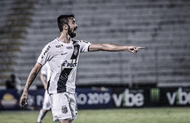 """Matheus Vargas lamenta empate da Ponte Preta contra Criciúma: """"Estávamos com o jogo na mão"""""""