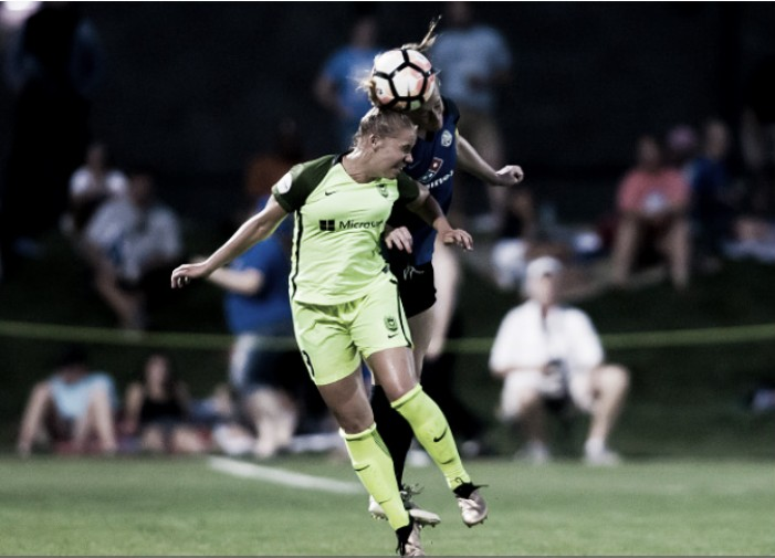 North Carolina Courage acquire Merritt Mathias from Seattle Reign FC