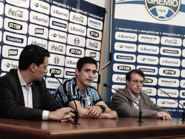 Matías Rodríguez é apresentado como novo reforço do Grêmio