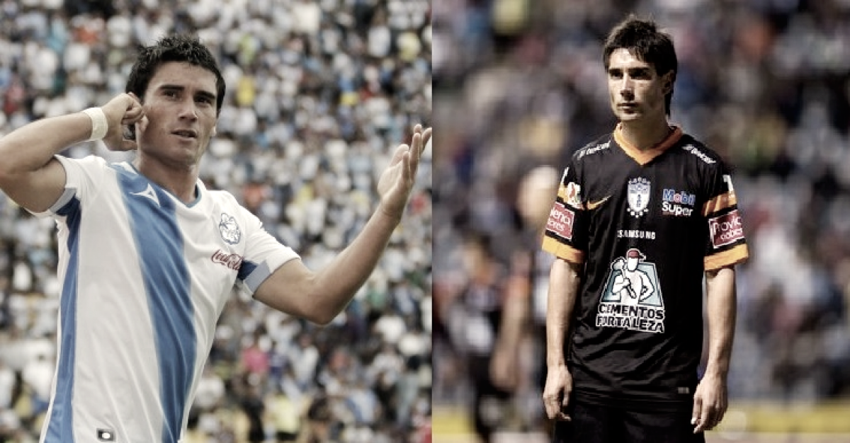 Jugadores que han vestido la playera de Puebla y Pachuca.