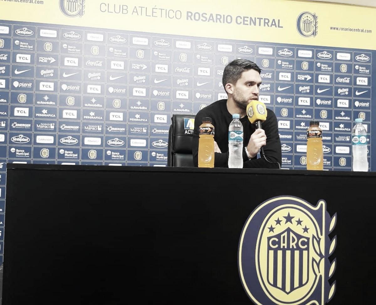 """Matías Caruzzo: """"Debemos mantener una tranquilidad para sacar el partido adelante"""""""