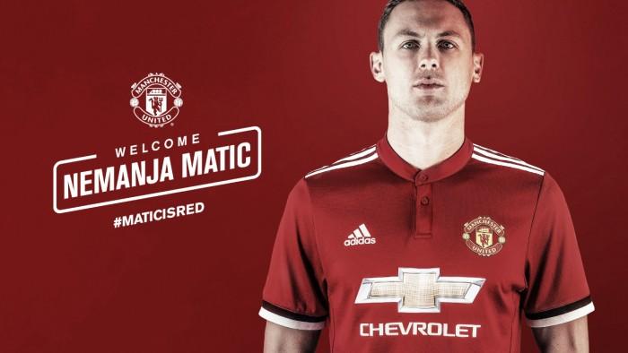 Matic é o mais recente reforço de Mourinho — Oficial