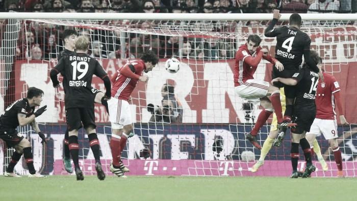 Bayern derrota Leverkusen e volta a vencer na Bundesliga