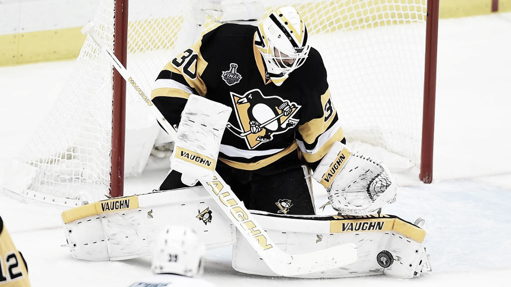 Matt Murray es baja para los Penguins de forma indefinida