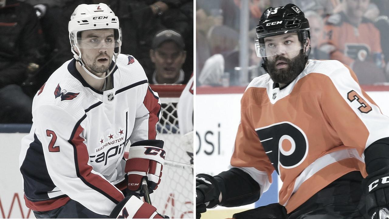 Intercambio de defensas: Niskanen para los Flyers y Gudas para los Capitals