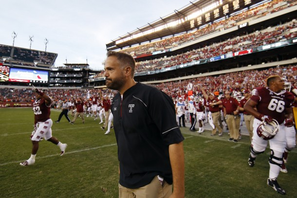 Matt Rhule Signs Six-Year Deal With Temple Owls