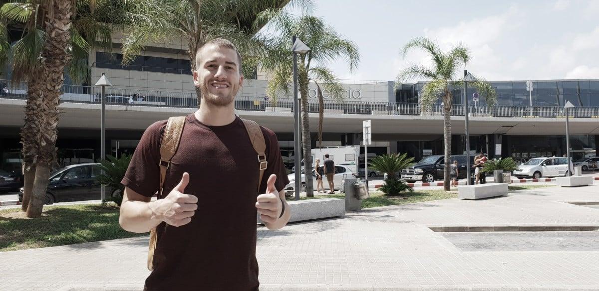 Matt Thomas en Valencia/ Twitter @valenciabasket