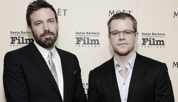 Matt Damon y Ben Affleck trabajan en una serie futurística para Syfy