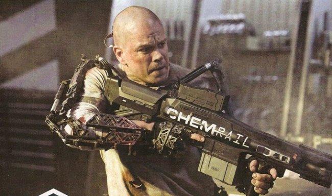 Primera imagen oficial de Matt Damon en el filme de ciencia ficción 'Elysium'