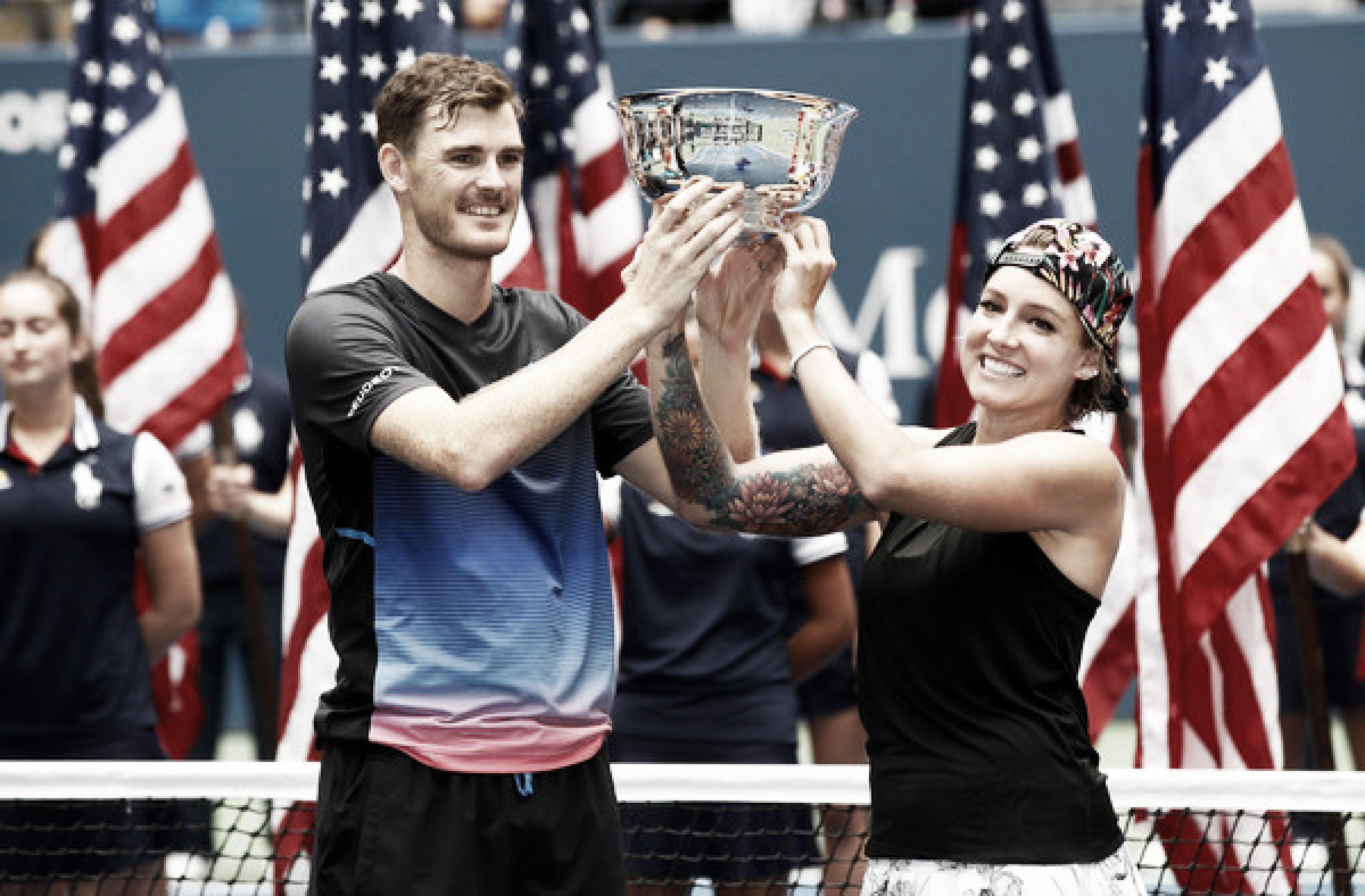 Murray y Mattek Sands reinan en el dobles mixto del US Open