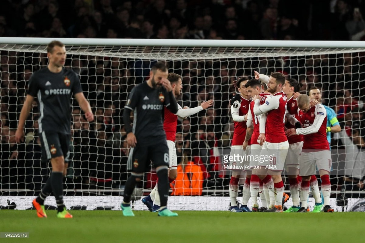Arsenal 4-1 CSKA Moscow: Player ratings as Arsenal emphatically beat Russians in Europa League