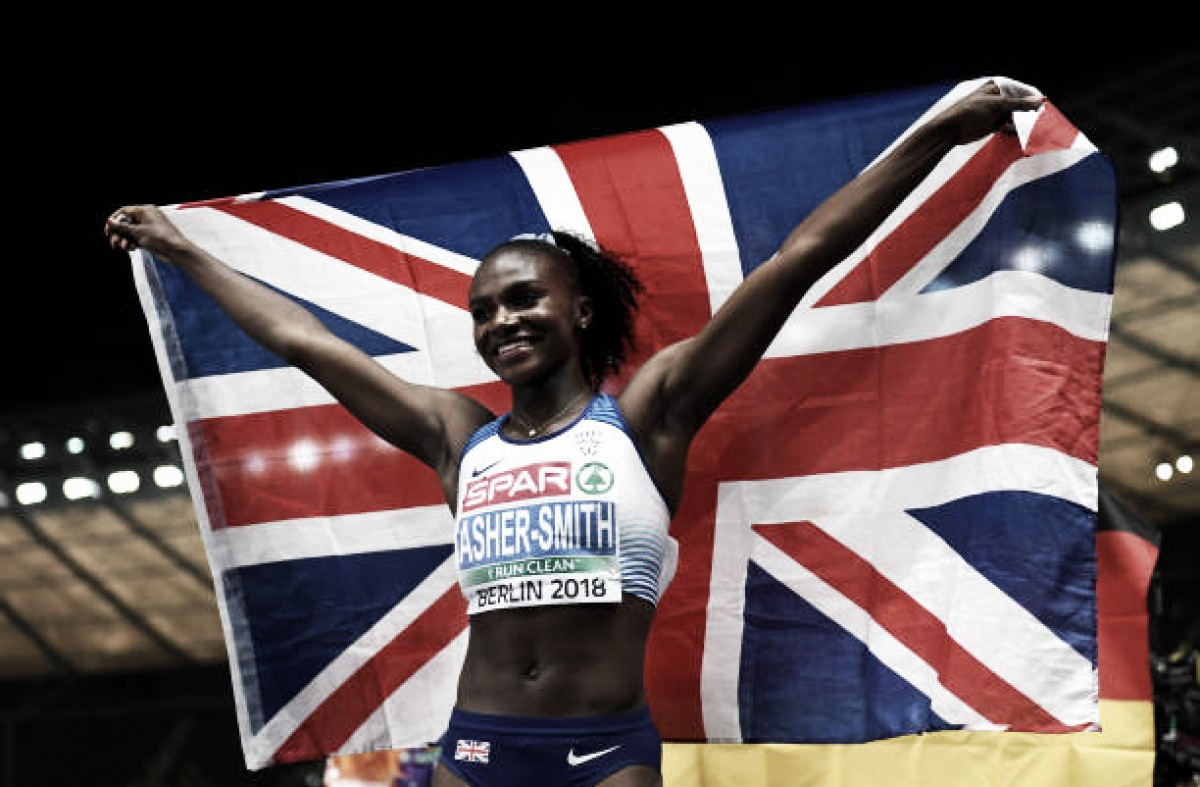 European Athletics Championships: Dina Asher-Smith storms to 100m gold