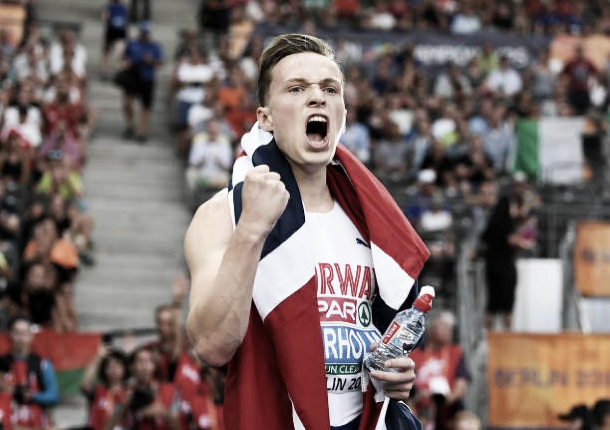 European Athletics Championships: Karsten Warholm captures 400m hurdles title