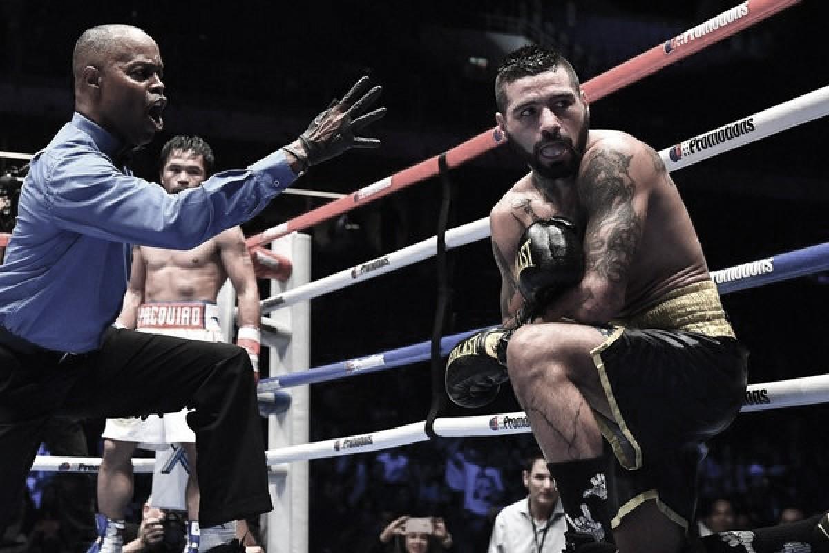 Decepción: Pacquiao noqueó a Matthysse y se coronó nuevamente campeón