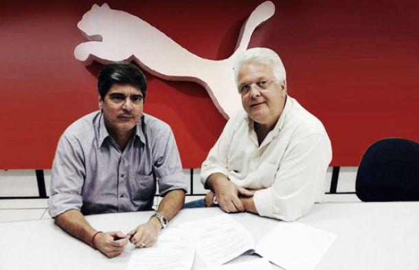 Vitória fecha acordo com a Puma por quatro anos