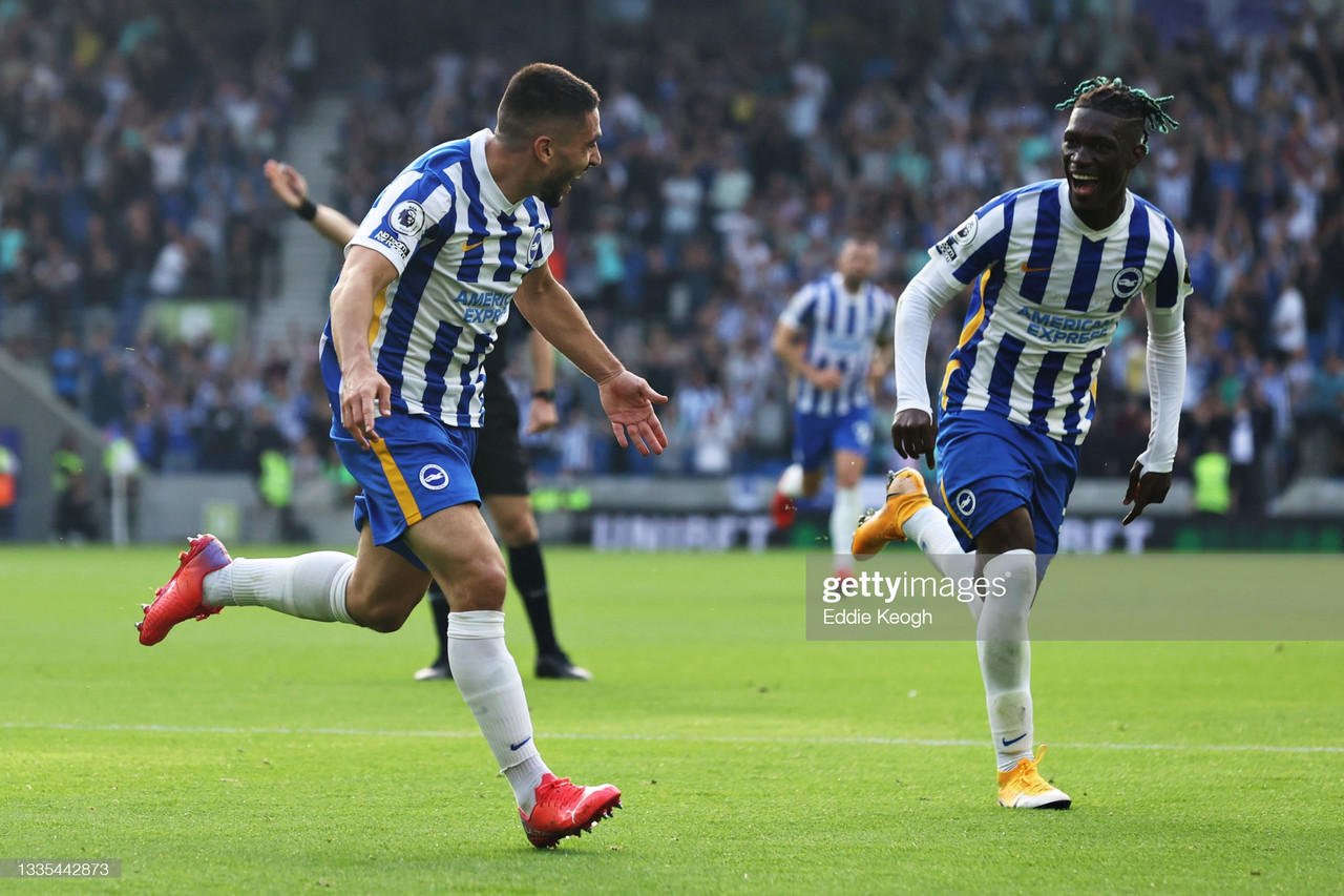Brighton 2-0 Watford: Successive wins see Brighton make their best Premier League start