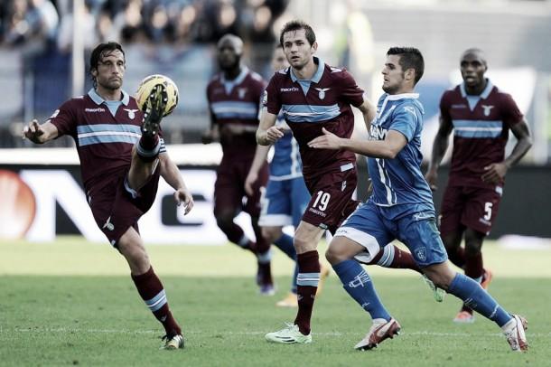 Partita Empoli - Lazio in diretta: (1-0) decide un gol di Tonelli, Lazio sempre più giù