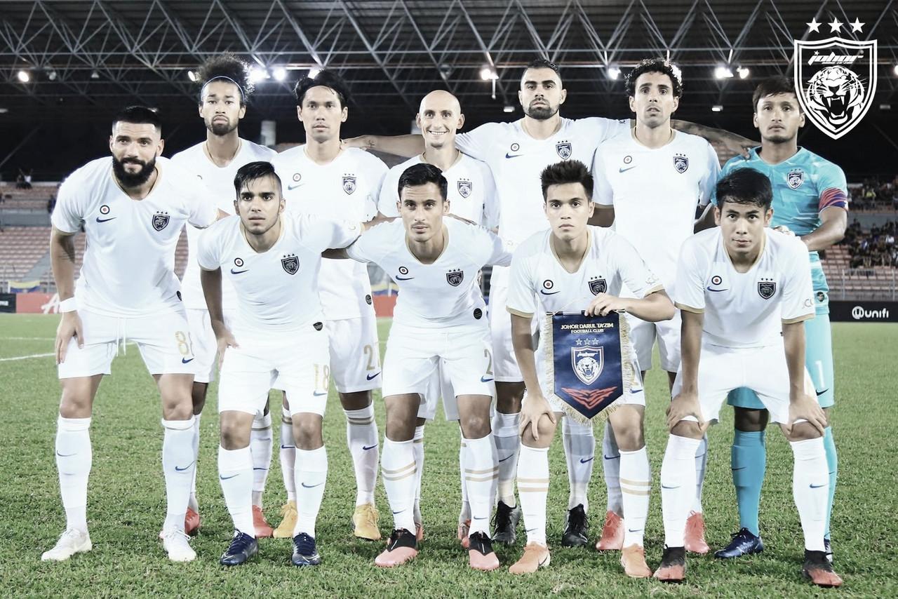 Maurício revela forte preparação no Johor e desejo para retorno do futebol na Malásia