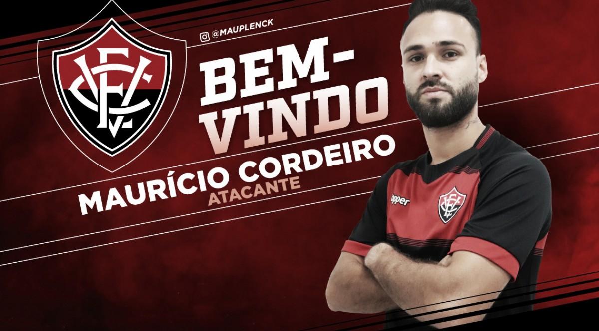 Atacante Maurício Cordeiro é anunciado como novo reforço no Vitória