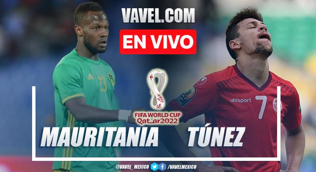 Resumen del Mauritania 0-0 Túnez en Eliminatorias Qatar 2022
