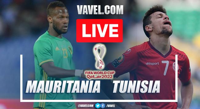 Highlights: Mauritania 0-0 Tunisia in Qatar 2022 World Cup Qualifiers