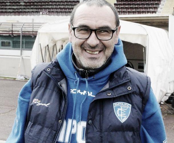 """Sarri carica: """"A Torino per vincere e conquistare la salvezza"""""""