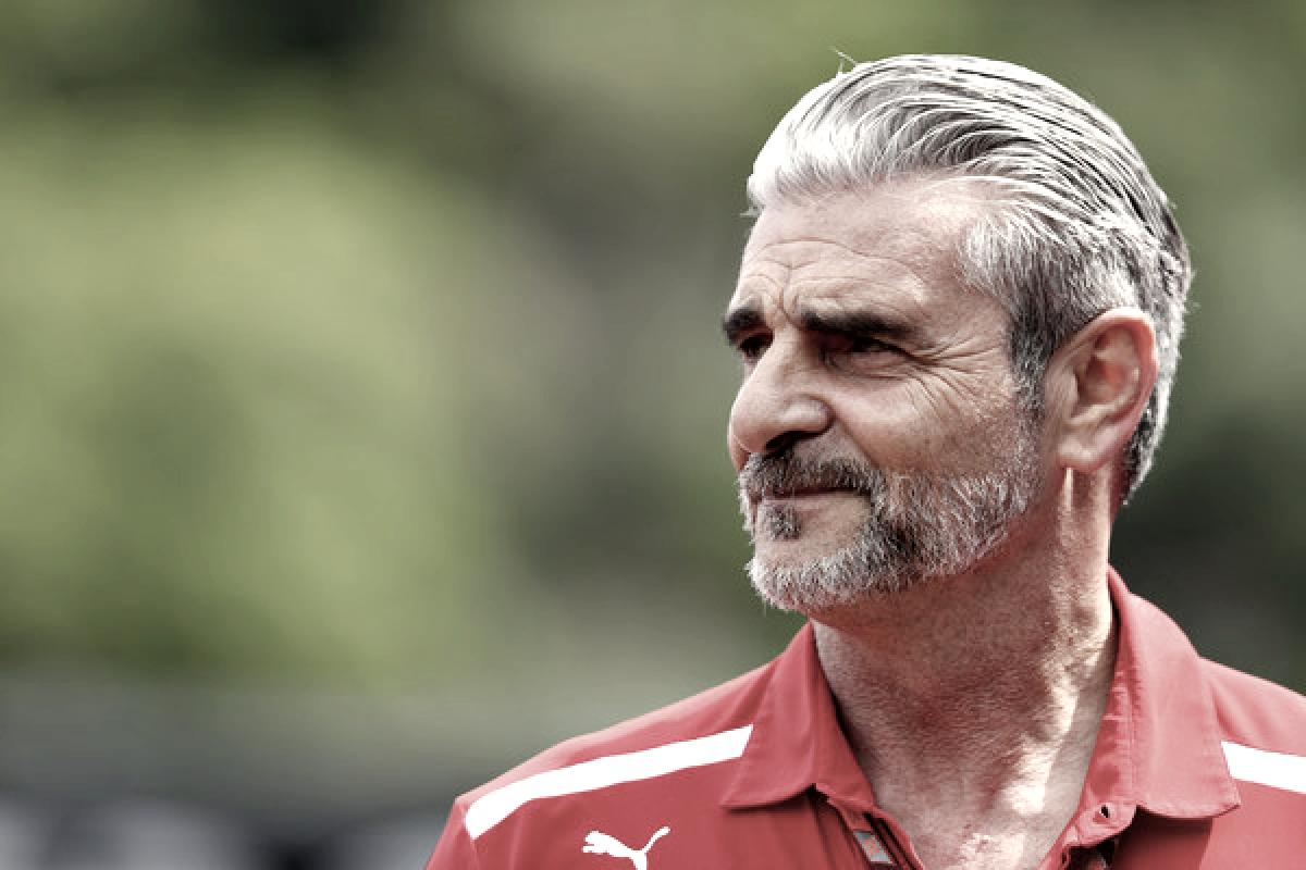"""Maurizio Arrivabene: """"Tenemos quemantener los pies en el suelo"""""""