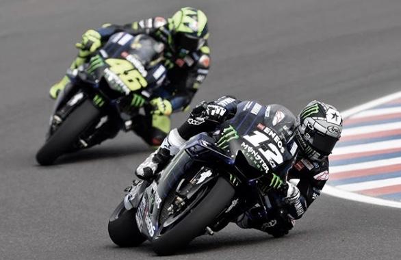 El equipo Yamaha Monster Enery preparado para el GP de Aragón