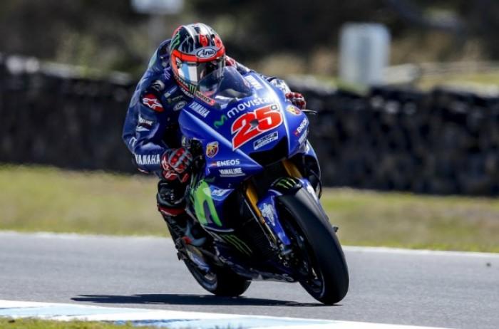 MotoGP: nel day2 a Phillip Island Viñales mette tutti in riga
