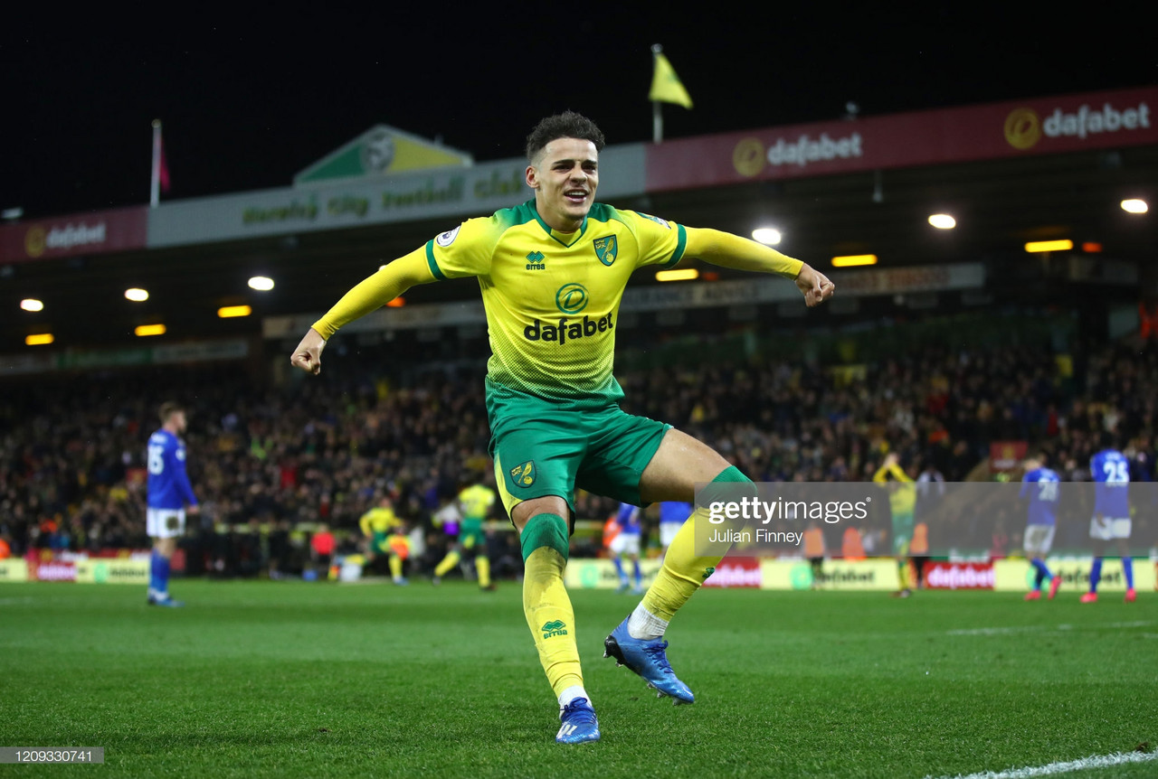 Norwich City 1-0 Leicester City: Lewis strikes to give the Canaries hope