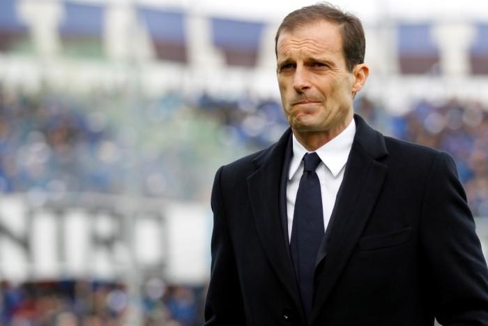 Allegri vê afobação como 'principal inimigo' da Juventus na derrota para a Sampdoria