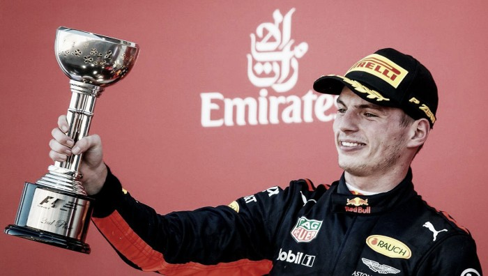 """Max Verstappen: """"Estuve cerca, pero sigo estando muy contento de ser segundo"""""""