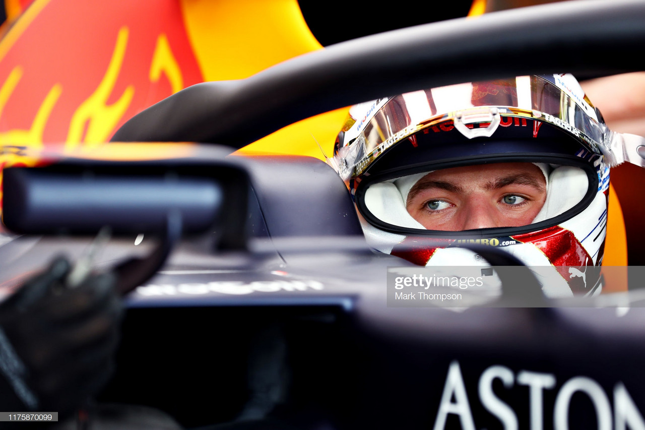 Verstappen on top in FP1