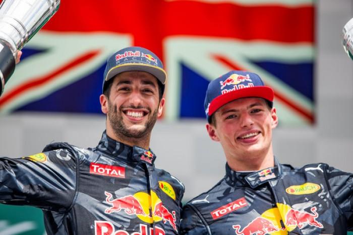 """Hockenheim, Ricciardo: """"Grande risultato"""", Verstappen: """"Obiettivi raggiunti"""""""