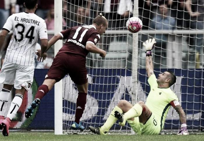 Palermo - Torino in Serie A 2015/2016 (1-3)