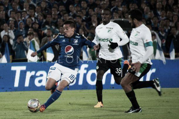 Maximiliano Núñez: garra y corazón de Millonarios