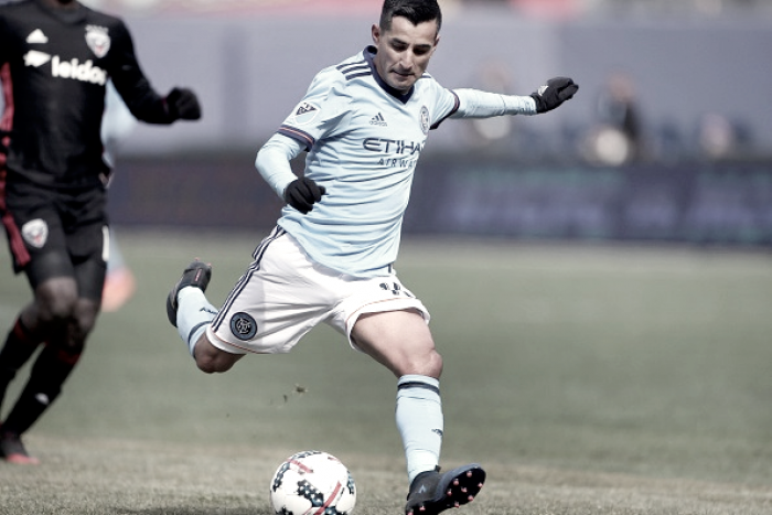 Weakened New York City FC hope to continue good form heading into match vs Sporting Kansas City