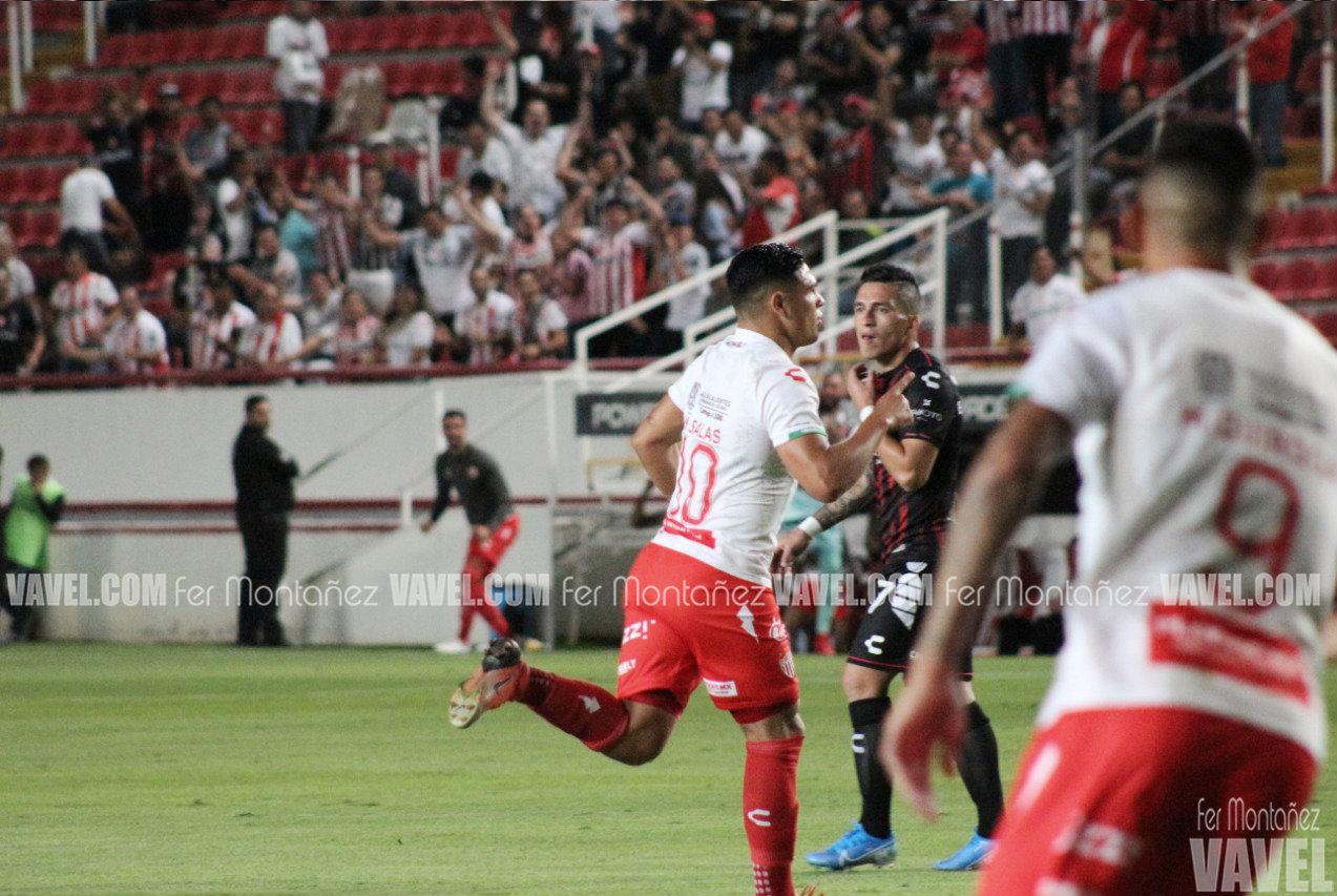 Maxi Salas y Necaxa, listos para enfrentar a Tigres