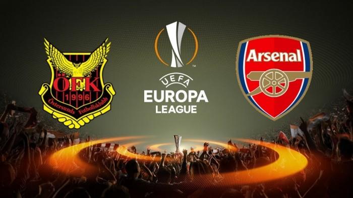 Resultado Östersunds x Arsenal pela Uefa Europa League (0-3)