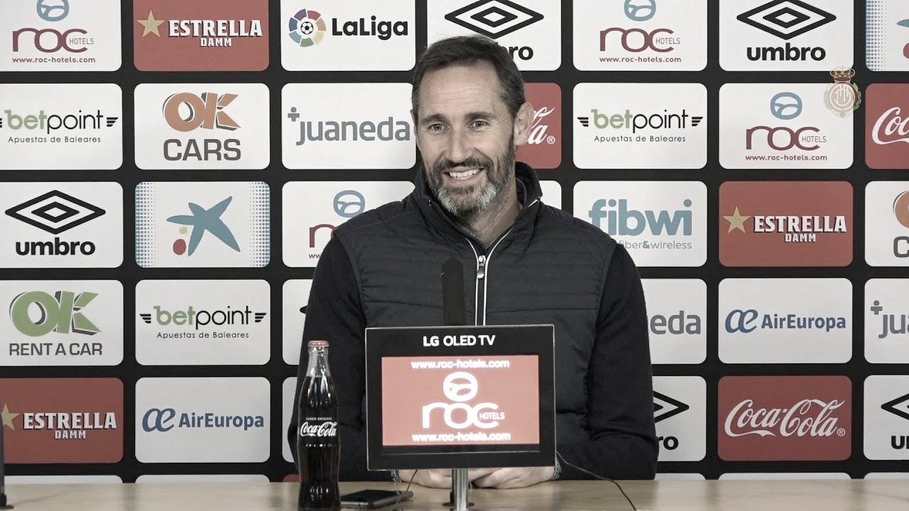 """Vicente Moreno: """"Vamos a luchar hasta el final para dar una alegría a la afición"""""""