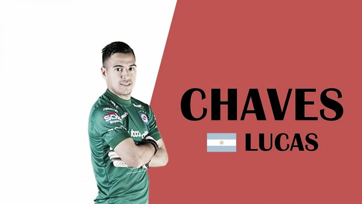 """Lucas Cháves: """"Hicimos un gran partido y nos llevamos un punto"""""""