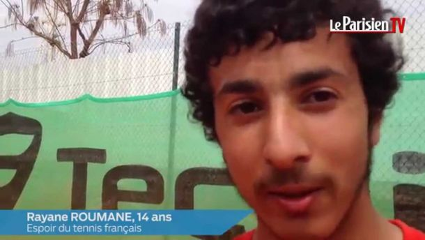 Premier classement ATP à 14 ans et 10 mois