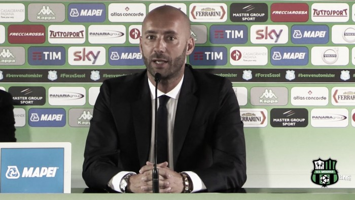 """Sassuolo, Bucchi: """"Berardi non ci sarà. La Juve non è in difficoltà"""""""